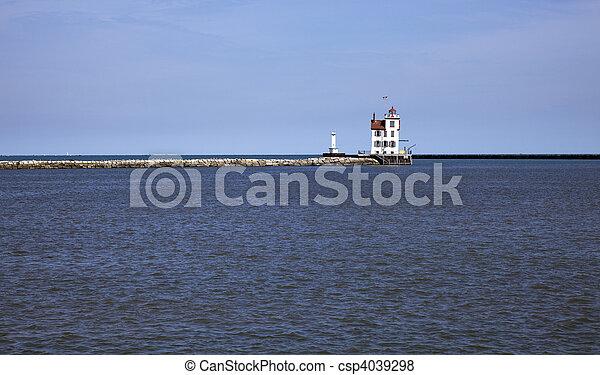 Lorain Lighthouse - csp4039298