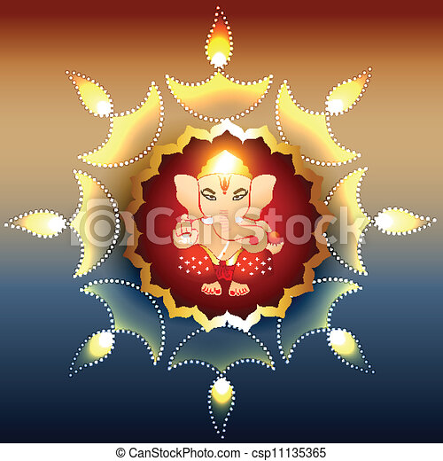 lord ganesh - csp11135365
