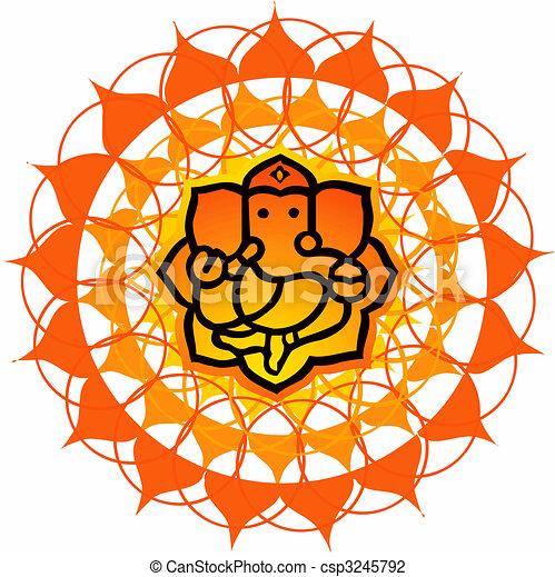 Lord Ganesh - csp3245792
