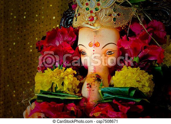 Lord Ganesh - csp7508671