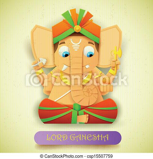 Lord Ganesha - csp15507759