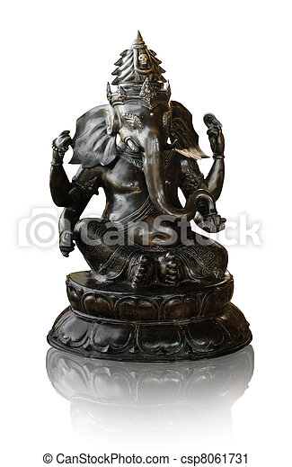 Lord Ganesha Hinduism Buddha - csp8061731