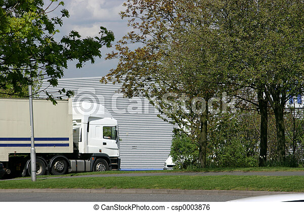 Lorry at Industrial - csp0003876