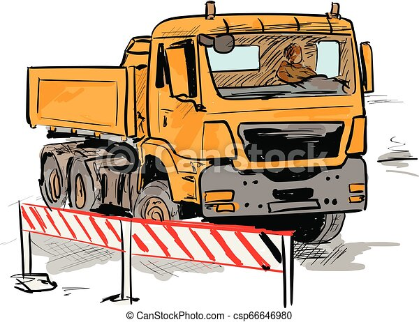 lorry - csp66646980