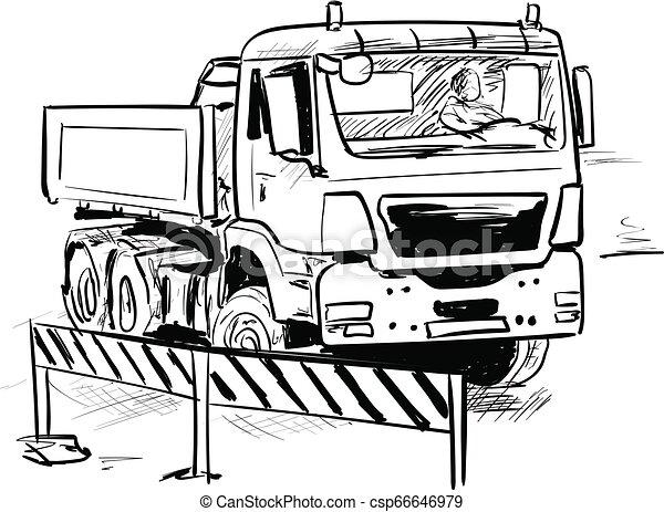lorry - csp66646979