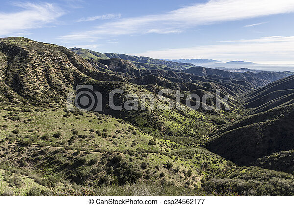 Los Angeles County Mountain Parks - csp24562177