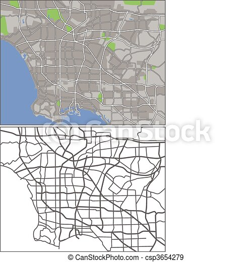 Los Angeles - csp3654279