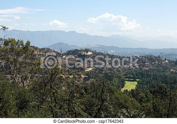 Los Angeles hills - csp17642343