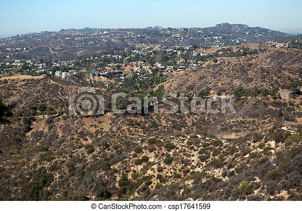 Los Angeles hills - csp17641599