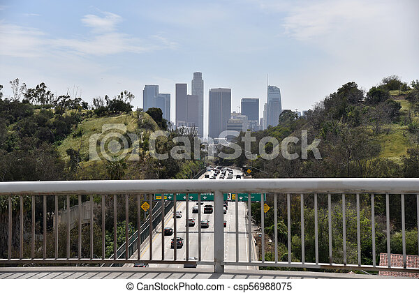 Los Angeles Skyline - csp56988075