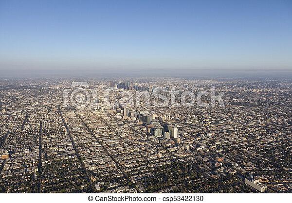 Los Angeles Sprawl Aerial - csp53422130
