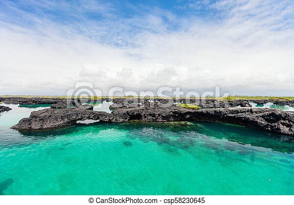 Los Tuneles Galapagos islands - csp58230645