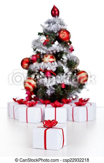 Andere Weihnachtsgeschenke.Lose Geschenke Kleiner Baum Weihnachten