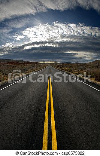 lost highway - vertical version - csp0575322