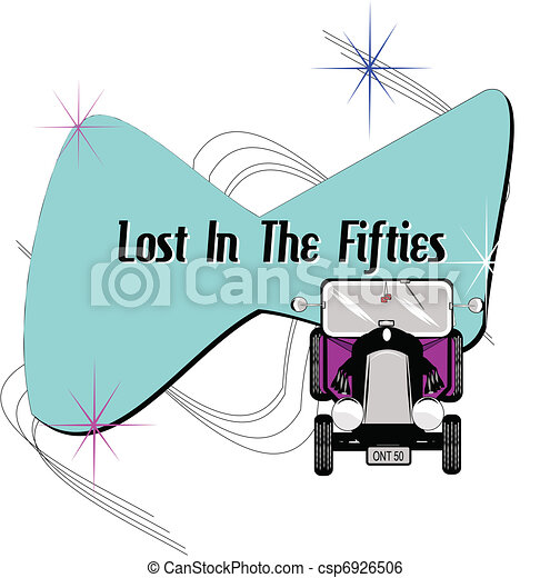 lost in the fifties - csp6926506