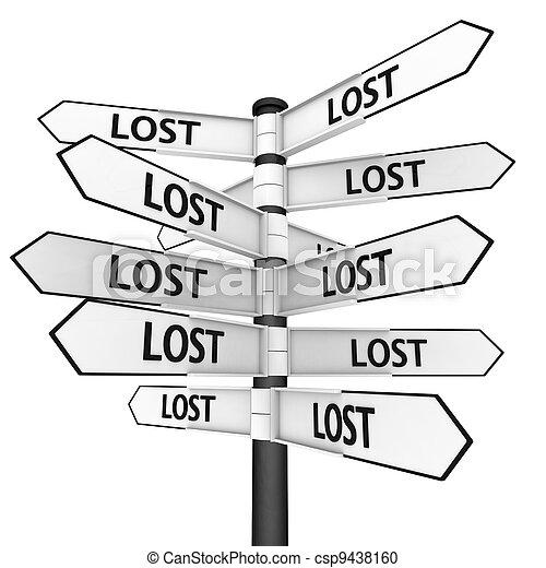 Lost way - csp9438160
