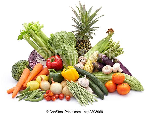 Muchos vegetales - csp2308969
