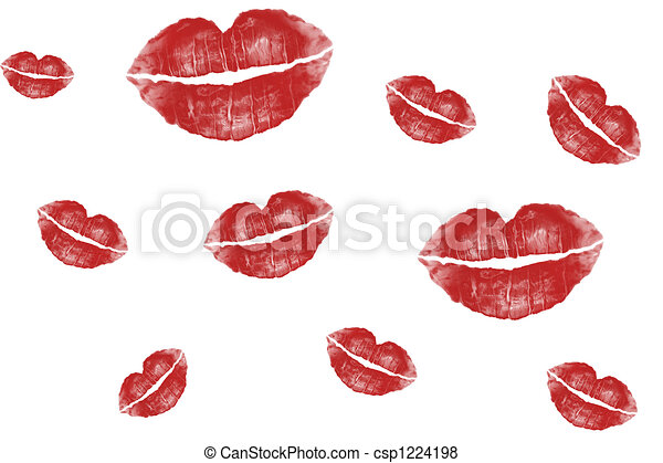 Lotissements baisers illustration l vre arri re plan - Dessin de bisous ...