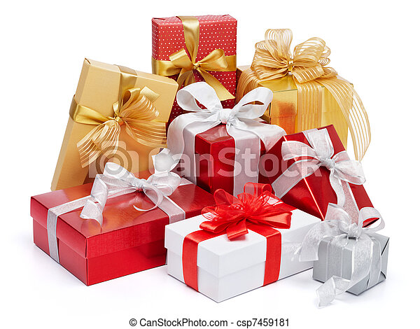 lots of gifts - csp7459181