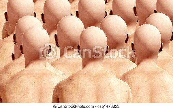 Lots Of Head Backs 3 - csp1476323
