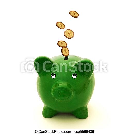 Lots of money - csp5566436