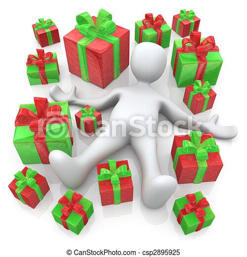 Lots Of Presents - csp2895925