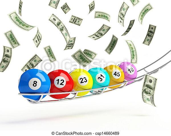 lottery - csp14660489