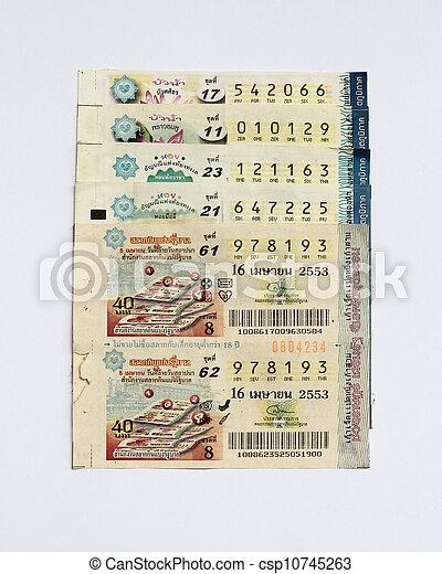 lottery - csp10745263