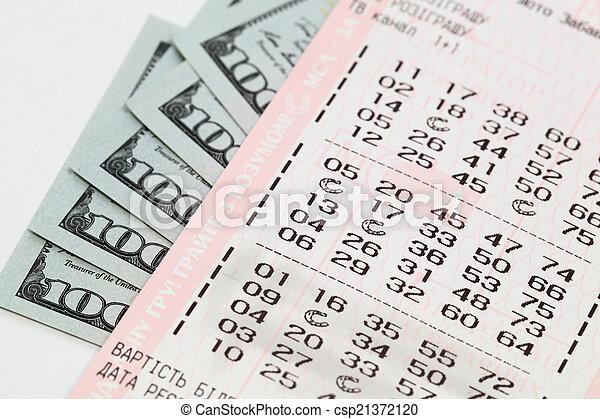 lottery  - csp21372120