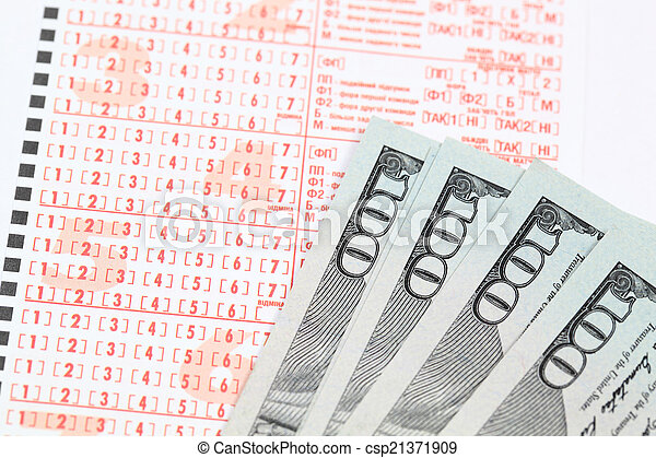 lottery - csp21371909