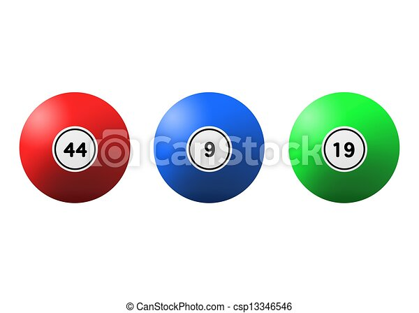Lotto Balls - csp13346546