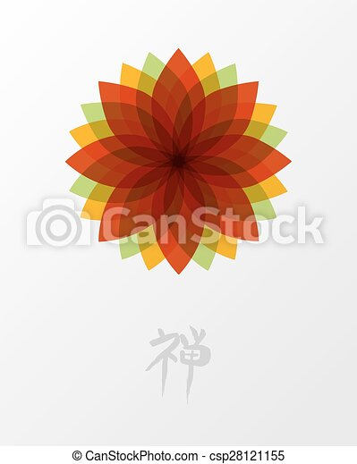 Lotus Concept Zen Fleur Illustration