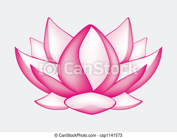 Lotus Fleur Sur Fleur Lotus Illustration Engendre Informatique