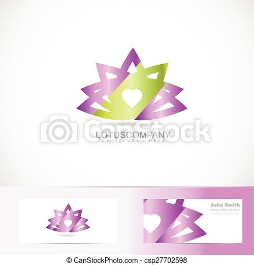 Lotus Flower 3d Logo
