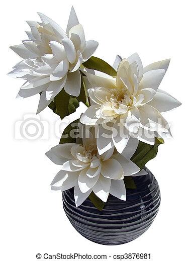 Lotus Flower Arrangement - csp3876981