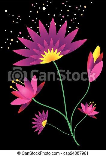 Lotus Flower - csp24087961
