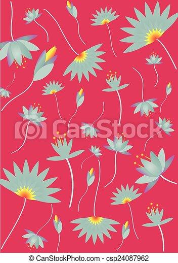 Lotus Flower - csp24087962