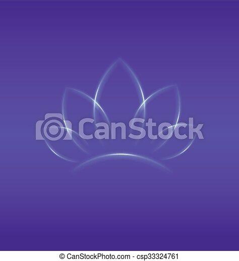 Lotus flower  - csp33324761