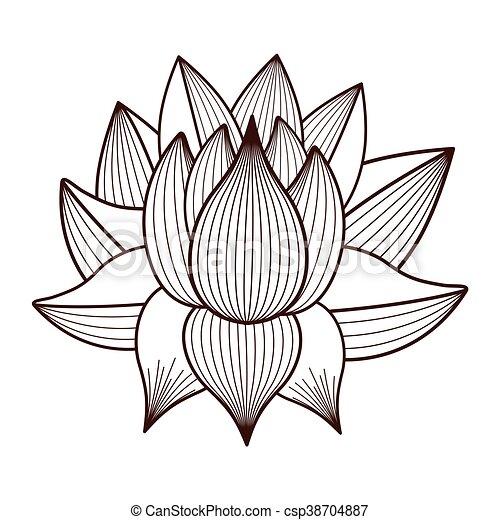 Lotus flower drawing isolated icon design vector illustration graphic lotus flower drawing isolated icon design csp38704887 mightylinksfo