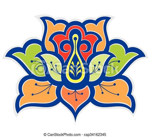 Lotus flower - csp34162345