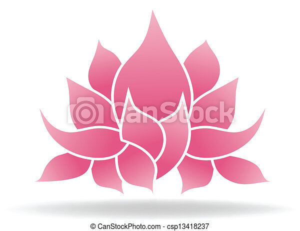 Lotus flower - csp13418237