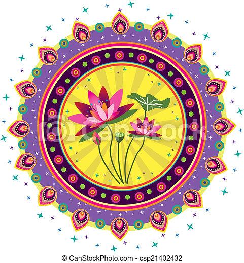 Lotus Flower - csp21402432