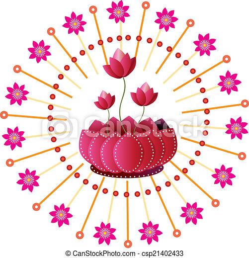 Lotus Flower - csp21402433
