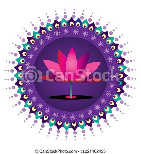 Lotus Flower - csp21402435