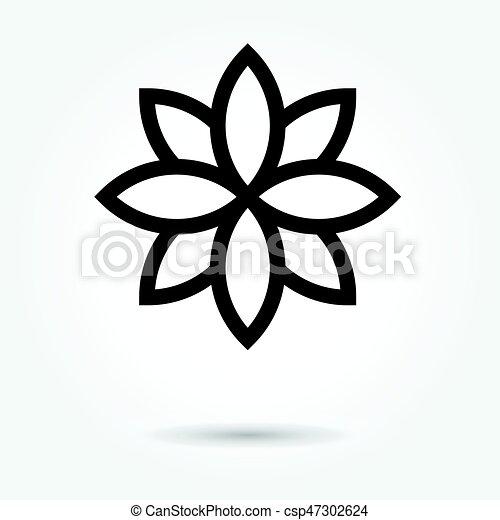 Lotus flower icon vector on white background vector illustration lotus flower icon vector on white background mightylinksfo Images