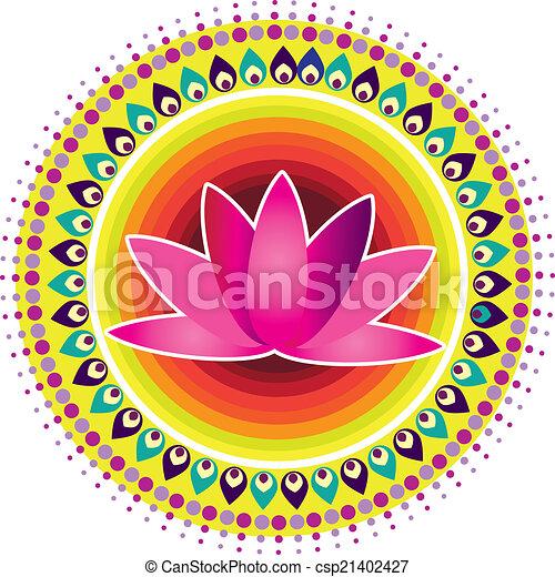 Lotus Flower - csp21402427