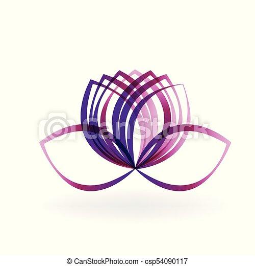 Lotus flower line art vector lotus purple flower graphic design lotus flower line art vector mightylinksfo