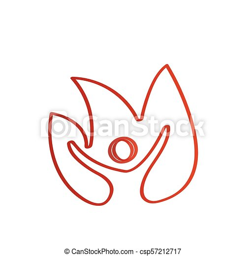 Lotus flower outline isolated lotus flower outline with silhouette lotus flower outline csp57212717 mightylinksfo
