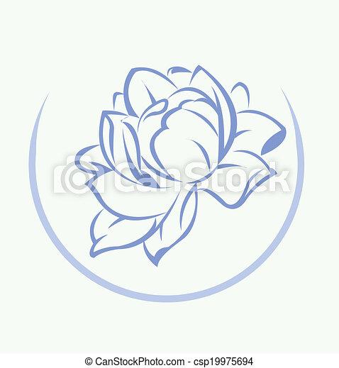 Lotus flower symbol lotus flower symbol csp19975694 mightylinksfo