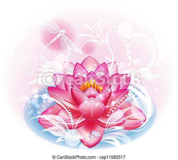 Lotus flower - csp11582517